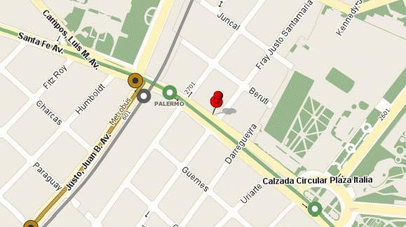 Foto Departamento en Alquiler temporario en  Palermo ,  Capital Federal  SANTA FE AV. entre ORO, FRAY JUSTO SANTAMARIA DE y GODOY CRUZ