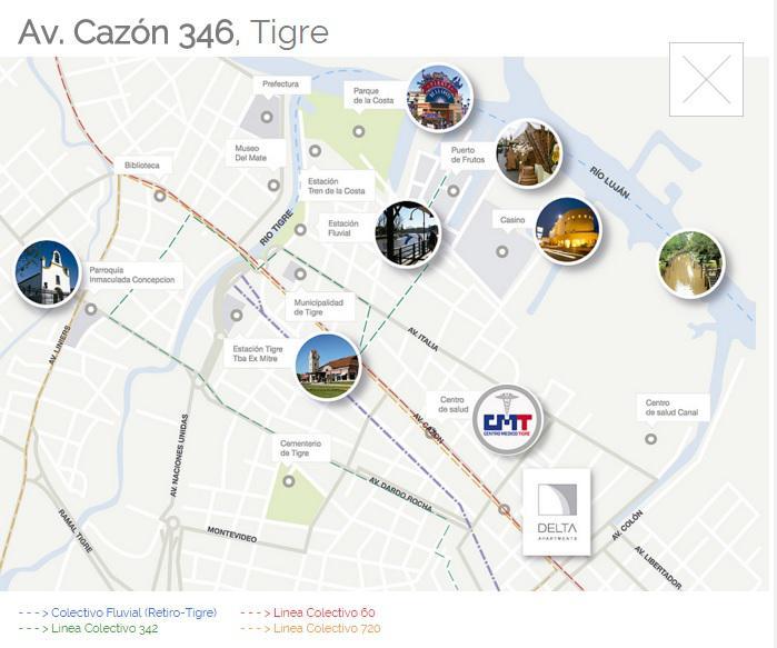 Foto Departamento en Venta en  Ciudad De Tigre,  Tigre  Cazón 348. T1-4C