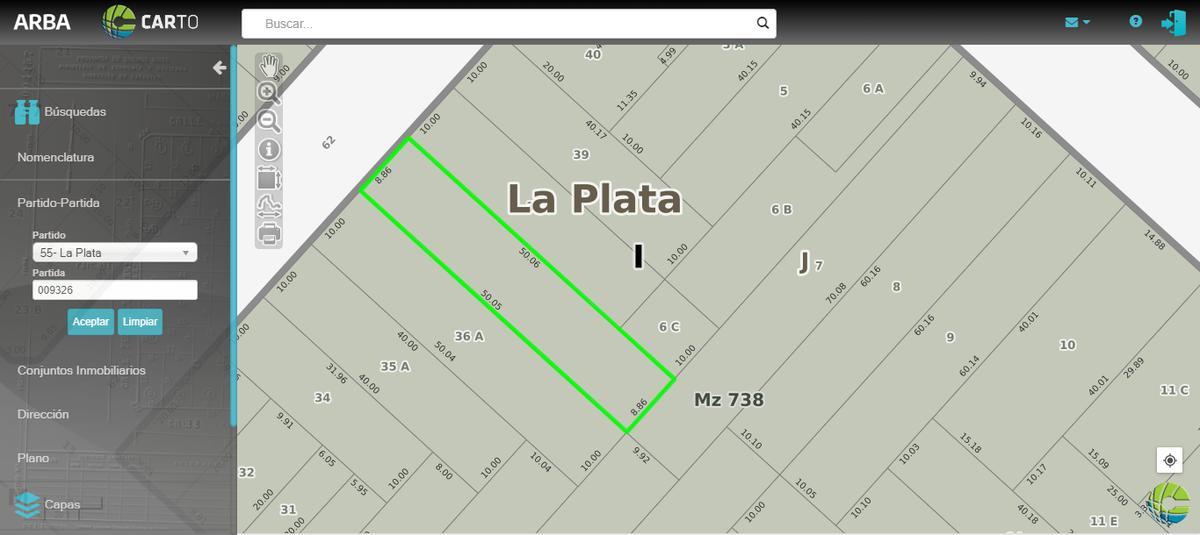 Foto Casa en Venta en  La Plata ,  G.B.A. Zona Sur  62 E/ 12 y 13