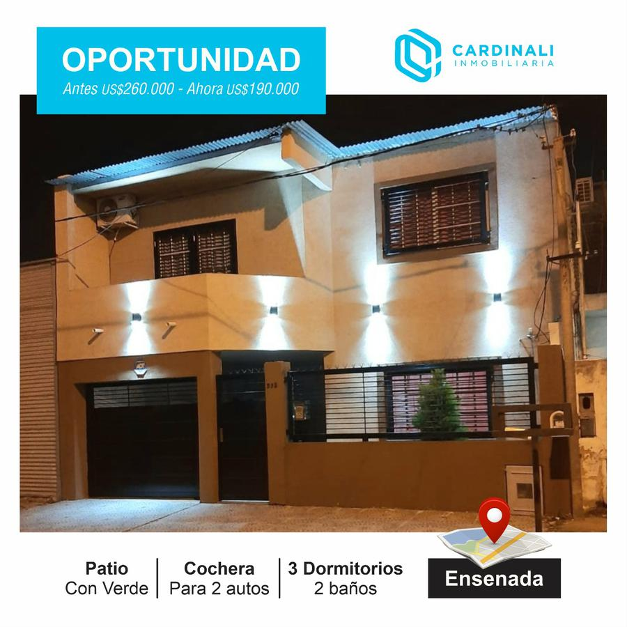 Foto Casa en Venta en  Ensenada ,  G.B.A. Zona Sur  bolivia 592