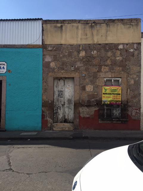 Foto Terreno en Renta en  Morelia Centro,  Morelia  COL. CENTRO CALLE: PLAN DE AYALA # al 400