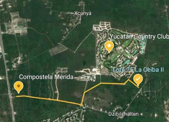 Foto Terreno en Venta en  Fraccionamiento Ceiba,  Mérida  Terreno en Venta en La Ceiba 2 de 1200m2