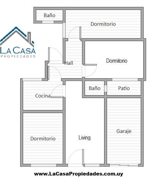 Foto Casa en Venta en  Unión ,  Montevideo  Camino Carrasco al 4100