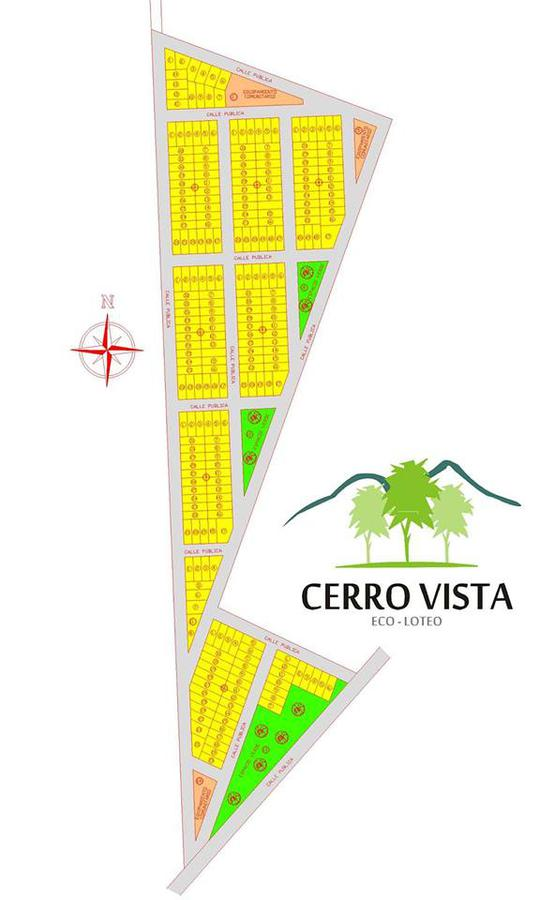 Foto Terreno en Venta en  Capital ,  La Rioja  Lote en Cerro Vista
