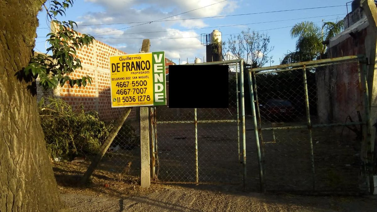 Foto Terreno en Venta en  San Miguel ,  G.B.A. Zona Norte  Primera Junta 475