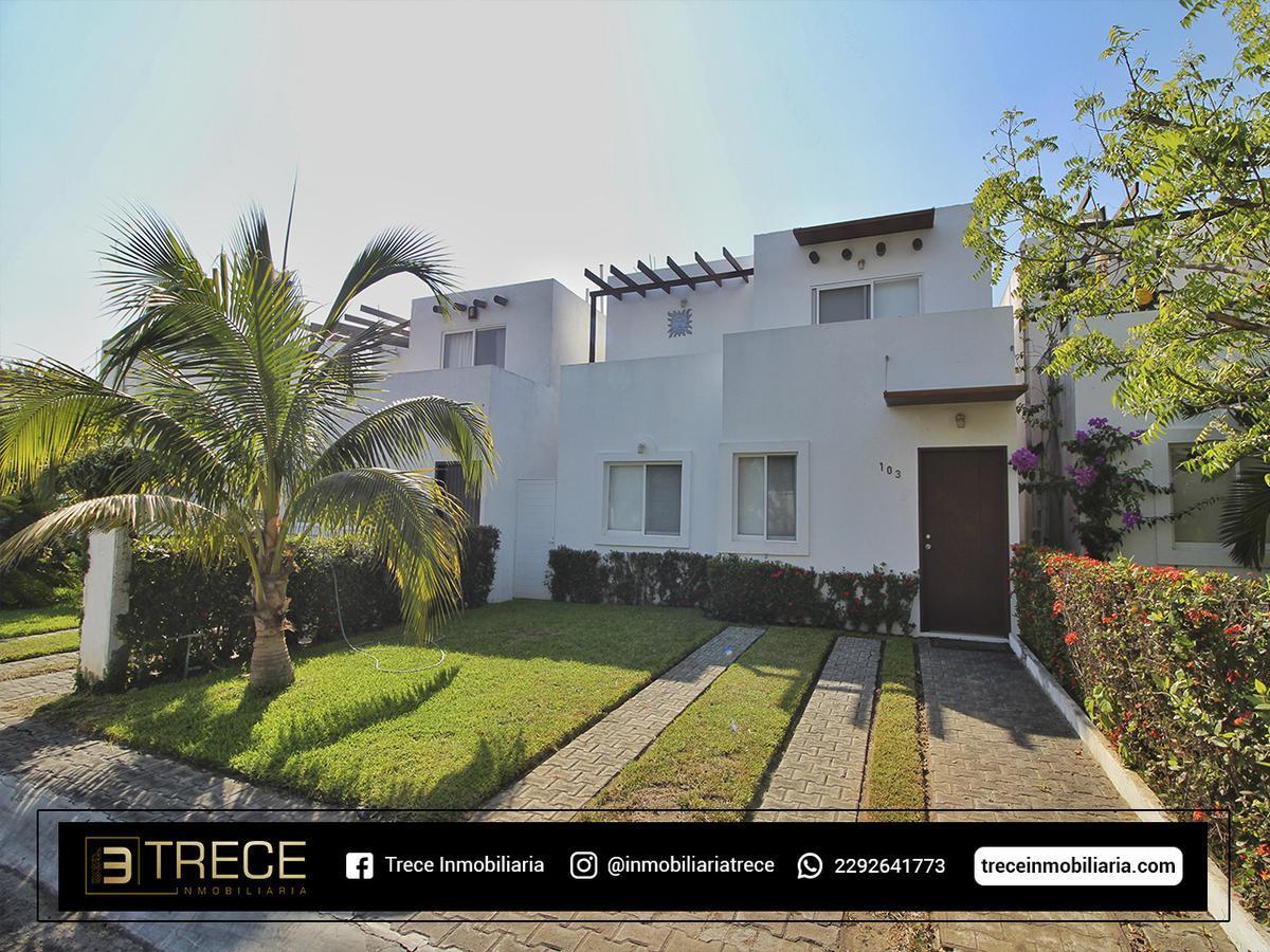 Foto Casa en condominio en Venta en  Ejido San Jose Novillero,  Boca del Río  Ejido San Jose Novillero