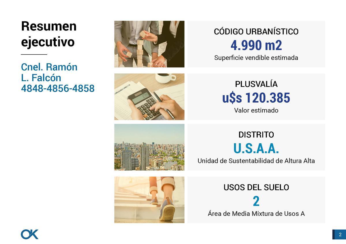 Foto Terreno en Venta en  Villa Luro ,  Capital Federal  Cnel. Ramón L. Falcón al 4848.. Incidencia usd 400.