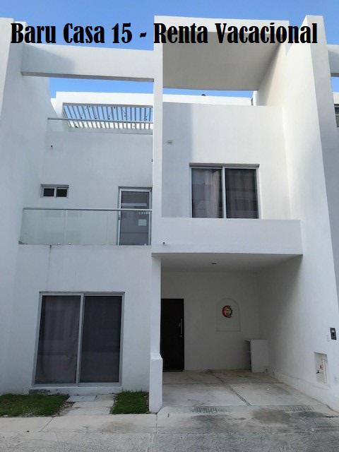 Foto Casa en condominio en Renta temporal en  Zona Hotelera Sur,  Cozumel  Baru Casa # 15 - Renta Vacacional