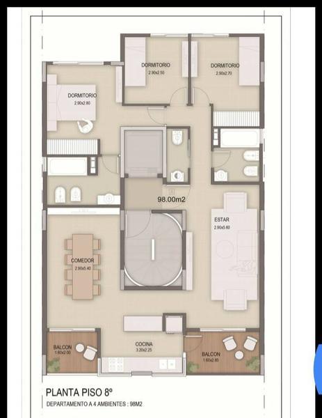 Foto Departamento en Venta en  Banfield Este,  Banfield                                  Vergara al 1525 piso 6°