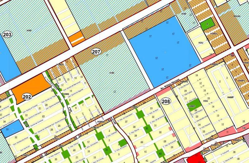Foto Terreno en Venta en  Supermanzana 209,  Cancún  Terreno para desarrollo de vivienda venta SM 207 Cancún
