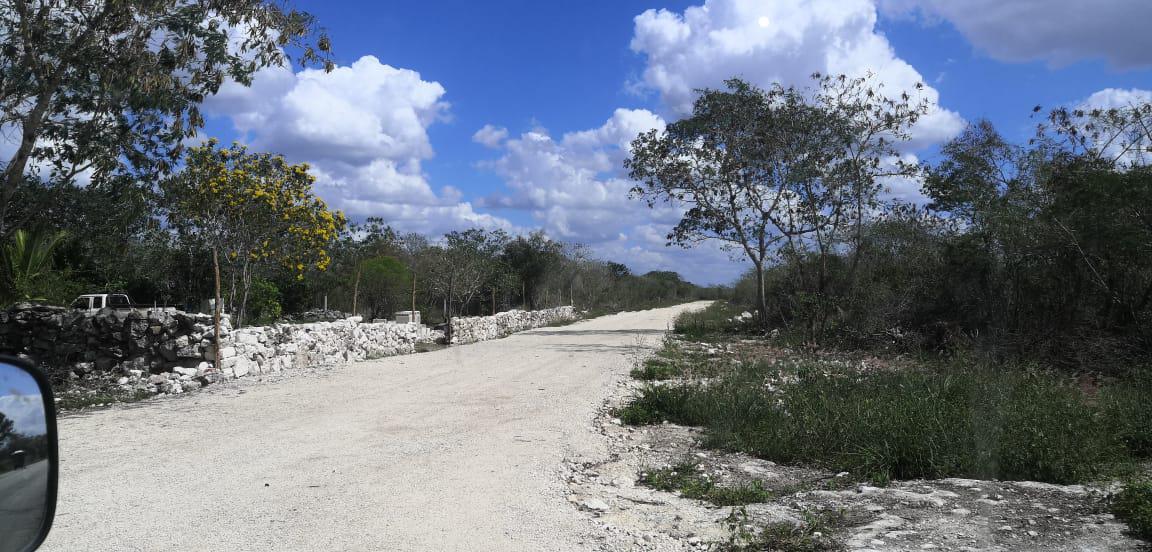 Foto Terreno en Venta en  Pueblo Sierra Papacal,  Mérida  Terreno en sierra papacal, con financiamiento. al norte de merida