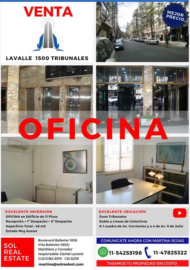 Foto Oficina en Venta en  Capital Federal ,  Capital Federal  Lavalle al 1500