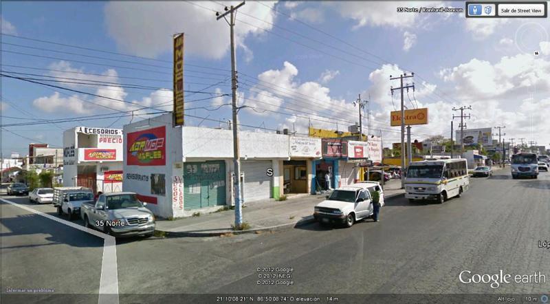 Foto Terreno en Renta en  Cancún Centro,  Cancún  ESQUINA COMERCIAL EN AV. LOPEZ PORTILLO DE CANCUN