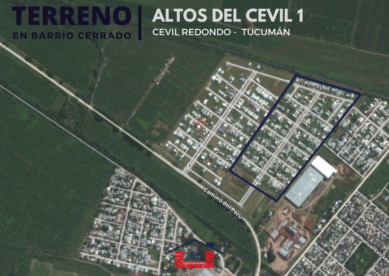 Foto Terreno en Venta en  Cevil Redondo,  Yerba Buena  Altos del Cevil - Mza G Lt 20