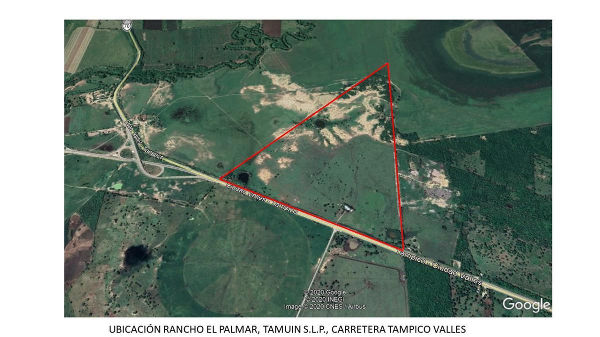 Foto Terreno en Venta en  Tamuín ,  San luis Potosí  Carretera Nacional Tampico Valles