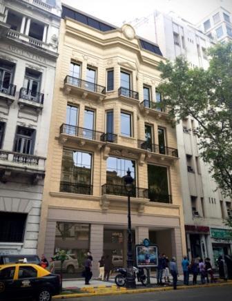 Foto Edificio Comercial en Alquiler en  Monserrat,  Centro (Capital Federal)  Avenida de Mayo 1100