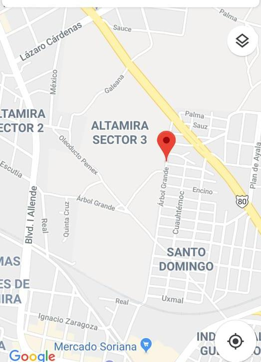 Foto Terreno en Venta en  Alameda,  Altamira  Altamira