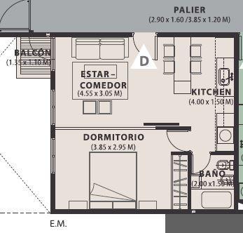 Foto Departamento en Venta | Alquiler en  General Paz,  Cordoba  Vendo 1 Dormitorio - B° General Paz - Edificio Magna