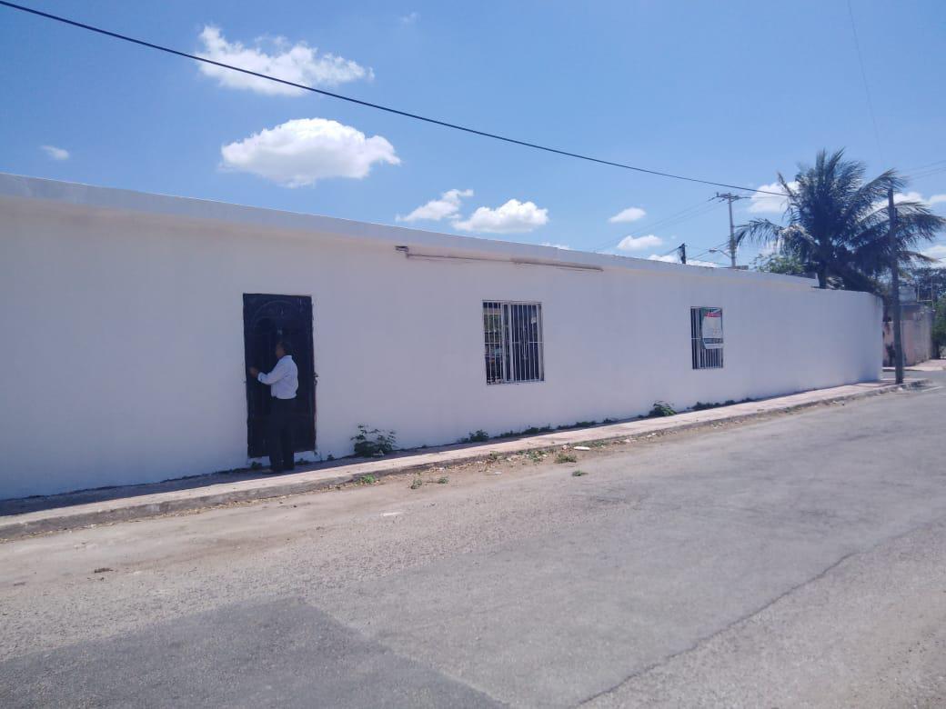 Foto Terreno en Venta en  Plantel México,  Mérida  Terreno en venta en Merida, tiene construcción y es esquina.