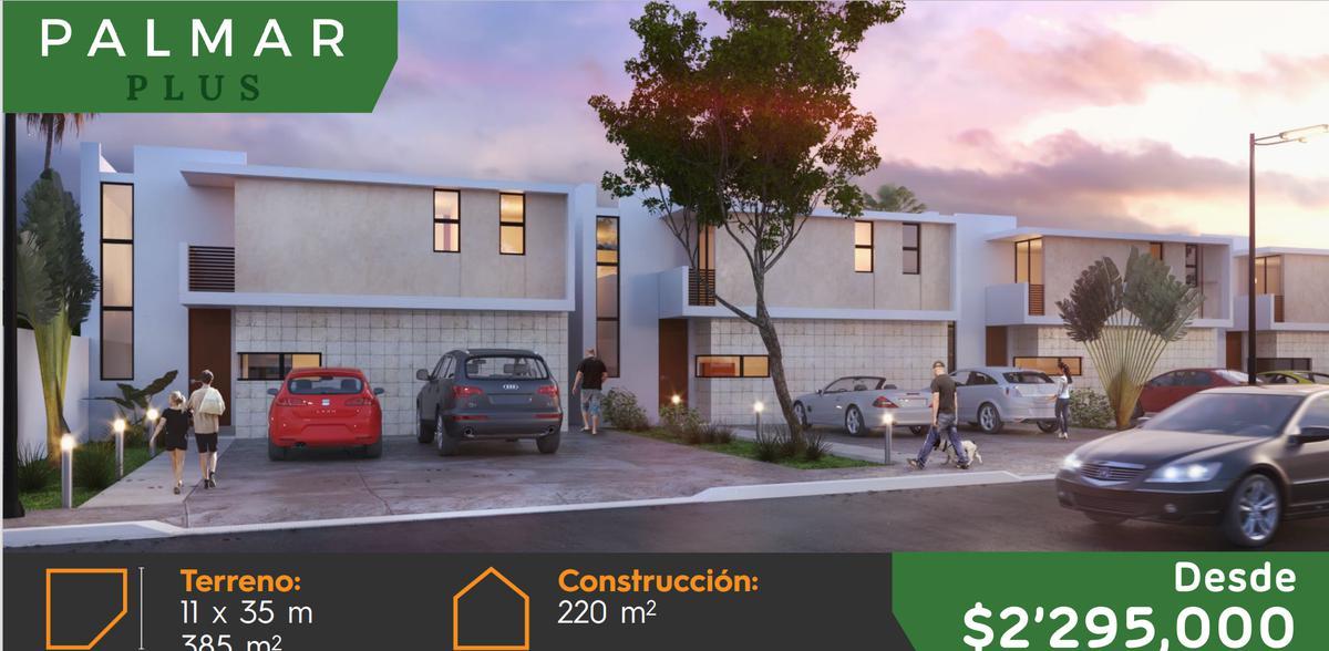 Foto Casa en Venta en  Pueblo Dzitya,  Mérida  CASAS EL PALMAR EN DZITYA