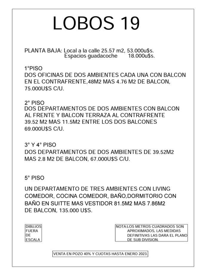 Foto Departamento en Venta en  Wilde,  Avellaneda  LOBOS 19 4 ° PISO