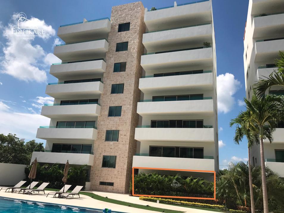Foto Departamento en Venta en  Aqua,  Cancún  Departamento en VENTA Planta Baja - Residencial Aqua Condominio CASCADES A ESTRENAR en Cancun