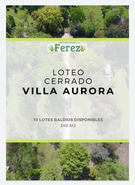 Foto Terreno en Venta en  Del Viso,  Pilar  VILLA AURORA