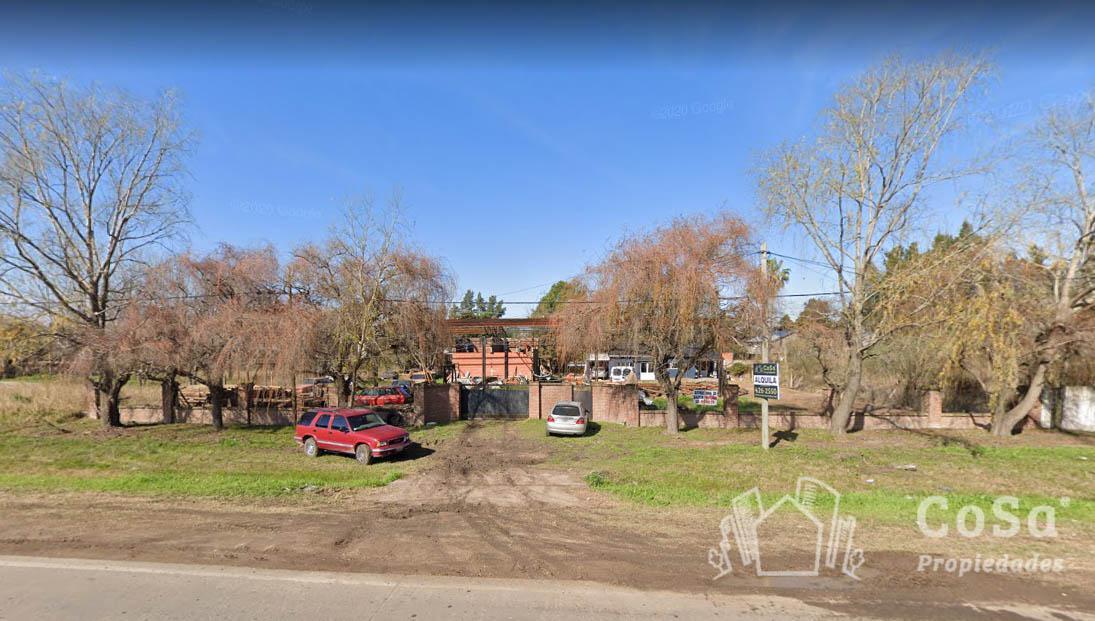 Foto Galpón en Venta en  Aldea Fisherton,  Rosario  Terreno con galpón Newbery  9450