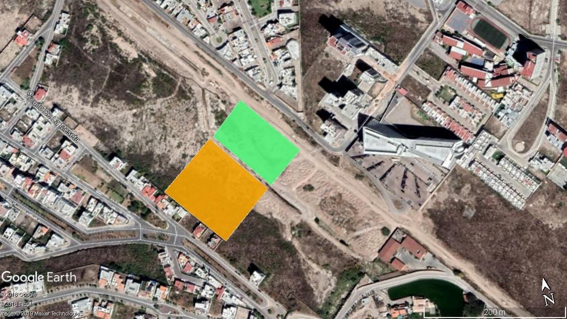 Foto Terreno en Venta en  Lomas del Tecnológico,  San Luis Potosí  TERRENO EN VENTA EN SIERRA VISTA