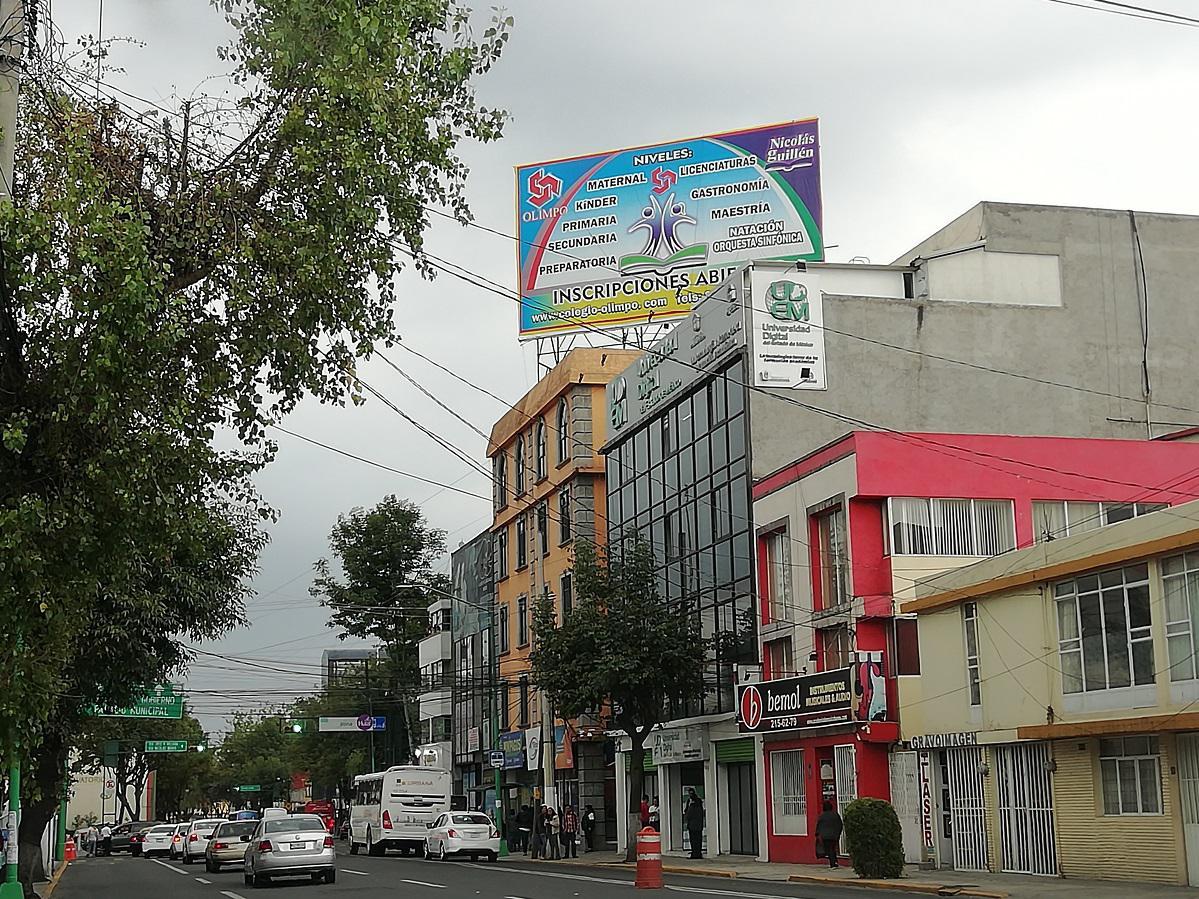 Foto Local en Renta en  San Bernardino,  Toluca  Renta de Anuncio Espectacular en  Morelos Esq. Quintana Roo