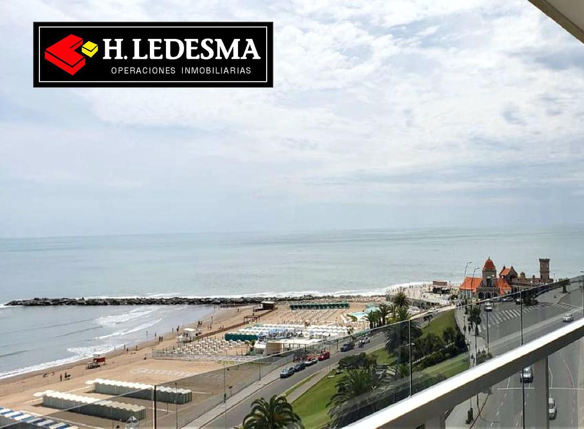 Foto Departamento en Venta | Alquiler en  Torreon,  Mar Del Plata  GUEMES Y LA COSTA * FRENTE AL MAR