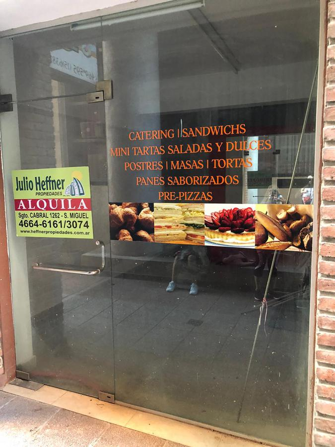 Foto Local en Alquiler en  San Miguel ,  G.B.A. Zona Norte  Av PteJuan Domingo Perón 586 LOCAL
