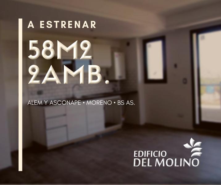 Foto Departamento en Venta en  Moreno,  Moreno  1er. Piso - Dpto.: D - Departamentos a estrenar - Moreno - Lado sur