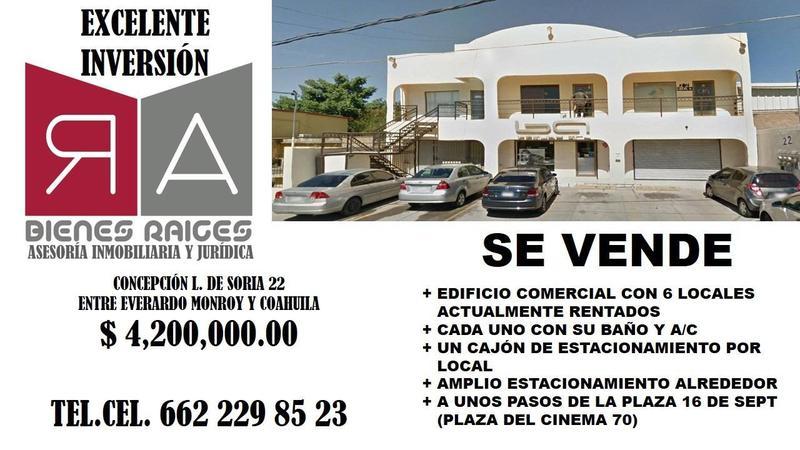 Foto Edificio Comercial en Venta en  Hermosillo Centro,  Hermosillo  EDIFICIO COMERCIAL VENTA CENTRO