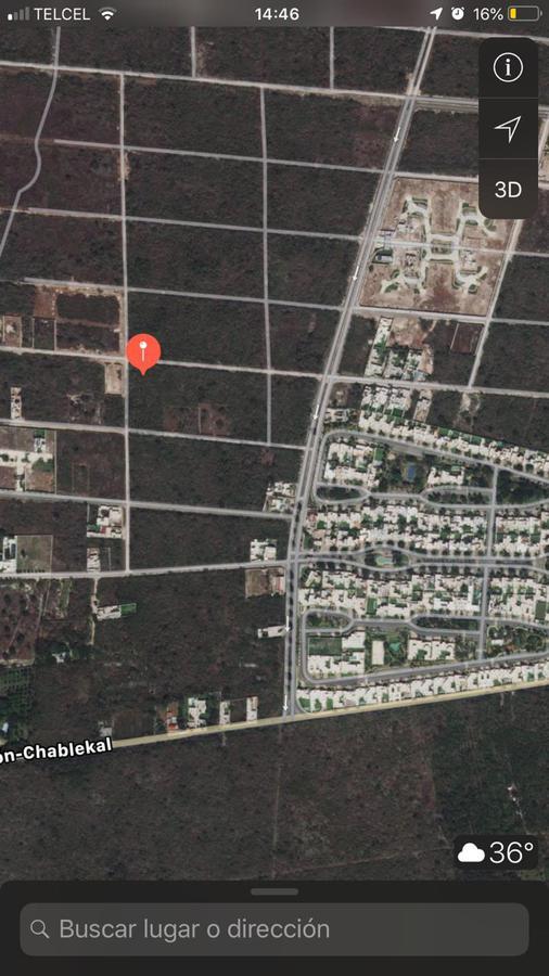 Foto Terreno en Venta en  Temozon Norte,  Mérida  Vendo terreno en excelente ubicación es esquina en Temozón Norte