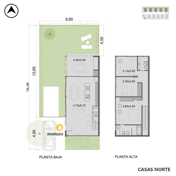 venta casa 3 dormitorios Funes, Los Girasoles 3100. Cod CCO35127 HO3549808 Crestale Propiedades