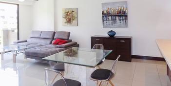 Foto Departamento en Renta en  Santa Ana ,  San José  Apartamento en Santa Ana amueblado con JARDIN