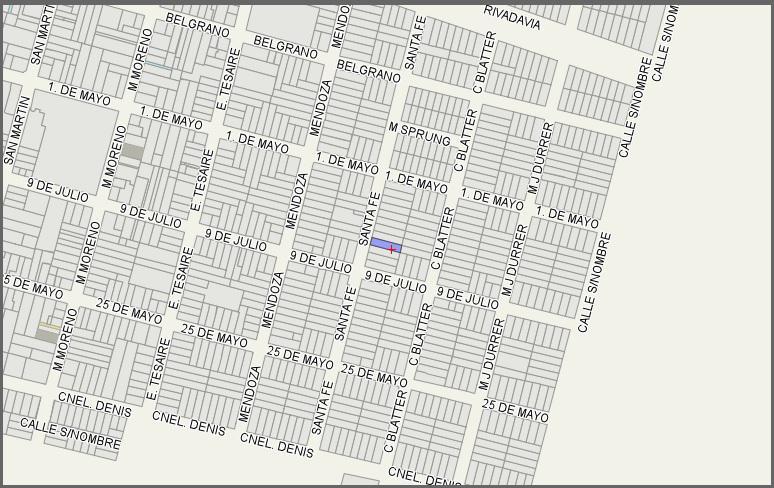 Foto Terreno en Venta en  San Jeronimo Norte,  Las Colonias  Amplio lote 400 m2 y todos los servicios en zona urbana