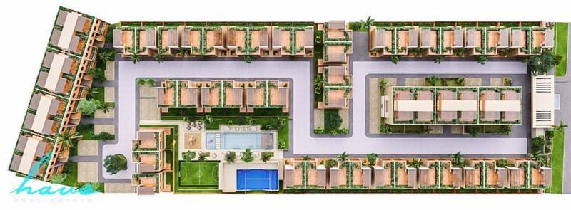 Foto Departamento en Venta en  Solidaridad,  Playa del Carmen  Aleda Playa del Carmen, Penthouse 3 rec, desde 223m2