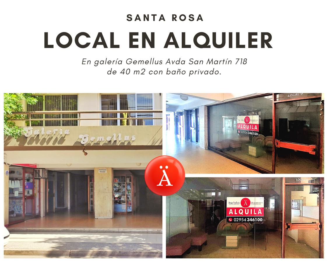 Foto Local en Alquiler en  Santa Rosa,  Capital  Avenida San Martin al 700