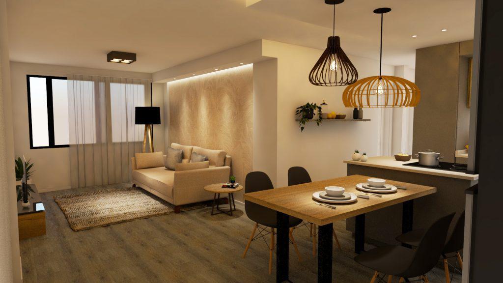 Departamento a reciclar, Rioja 2400, 2 dormitorios mas comodín - Lourdes