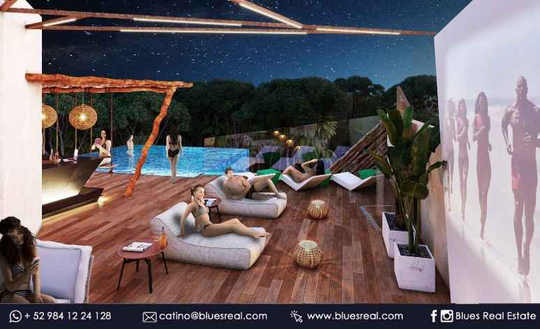 Picture Apartment in Sale in  Tulum ,  Quintana Roo  New condos in Sky Tulum | Blues Real | Code 623