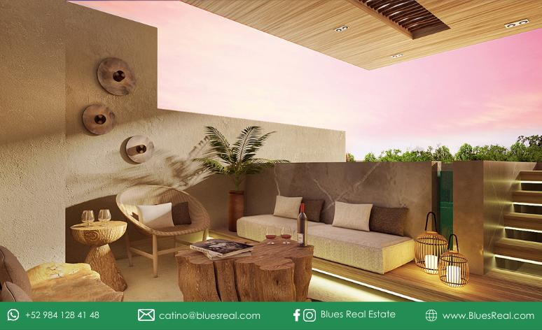 Picture Apartment in Sale in  Tulum ,  Quintana Roo  For sale NEW apartments in Solemn   Blues Real   Code 697