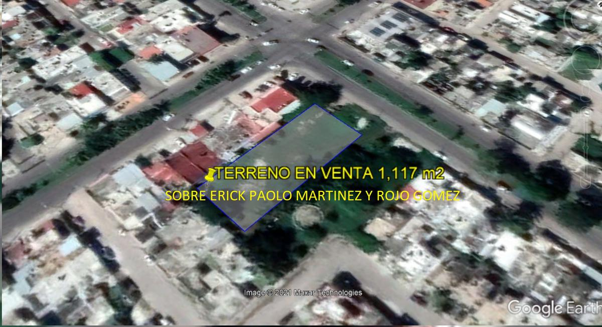 Foto Terreno en Venta en  Chetumal ,  Quintana Roo  Terreno sobre la Erick Paolo Martinez de Chetumal