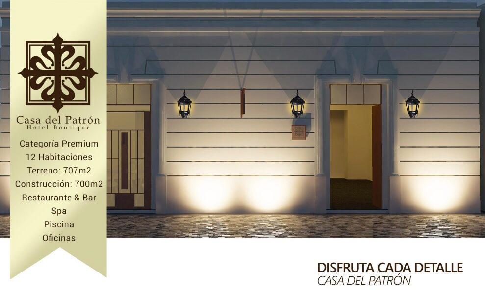 Foto Hotel en Venta en  Mérida ,  Yucatán  PROYECTO CASA DEL PATRON