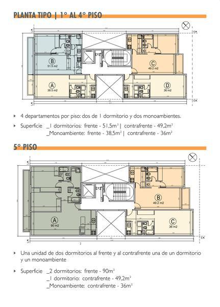 Foto Departamento en Venta en  La Plata,  La Plata  54 entre 17 y 18