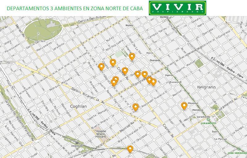 Foto Departamento en Venta en  Nuñez ,  Capital Federal  Congreso al 2800