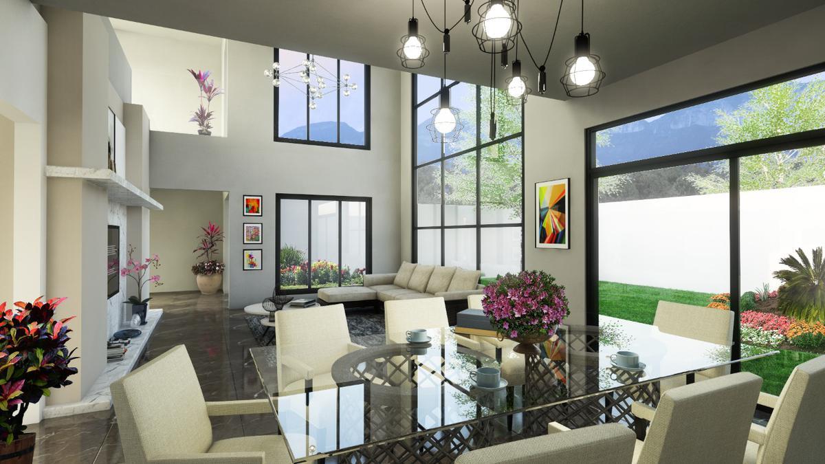 Foto Casa en condominio en Venta |  en  Monterrey ,  Nuevo León  Casa en venta La Joya Loreto Melva