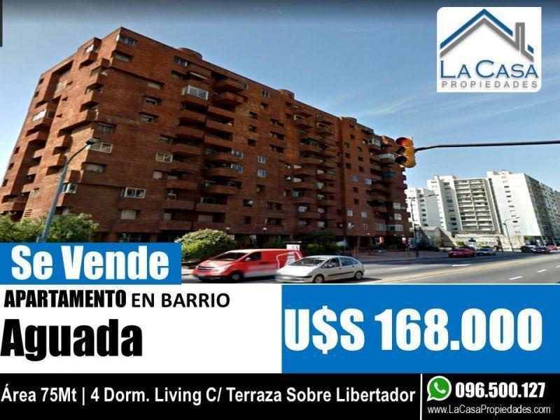Foto Apartamento en Venta en  Aguada ,  Montevideo  Av. libertador Brgdr. Gral. Lavalleja 1800