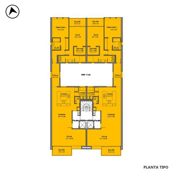 venta departamento 2 dormitorios Rosario, Guemes y Bv. Oroño. Cod CAP3559388 Crestale Propiedades